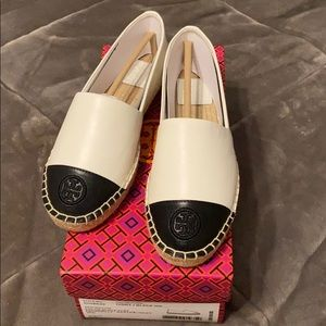 NEW WITH BOX - Tory Burch Espadrille - 6.5